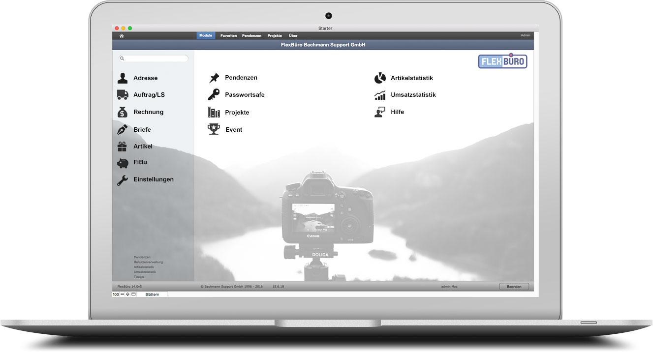 FlexBüro für Fotografen