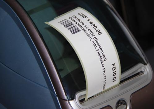 FlexBüro Barcode
