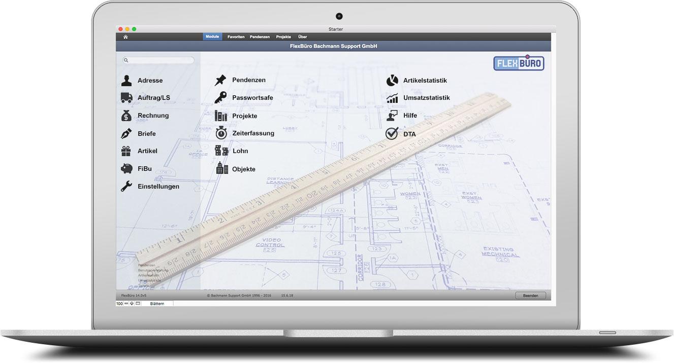 FlexBüro für Architekten
