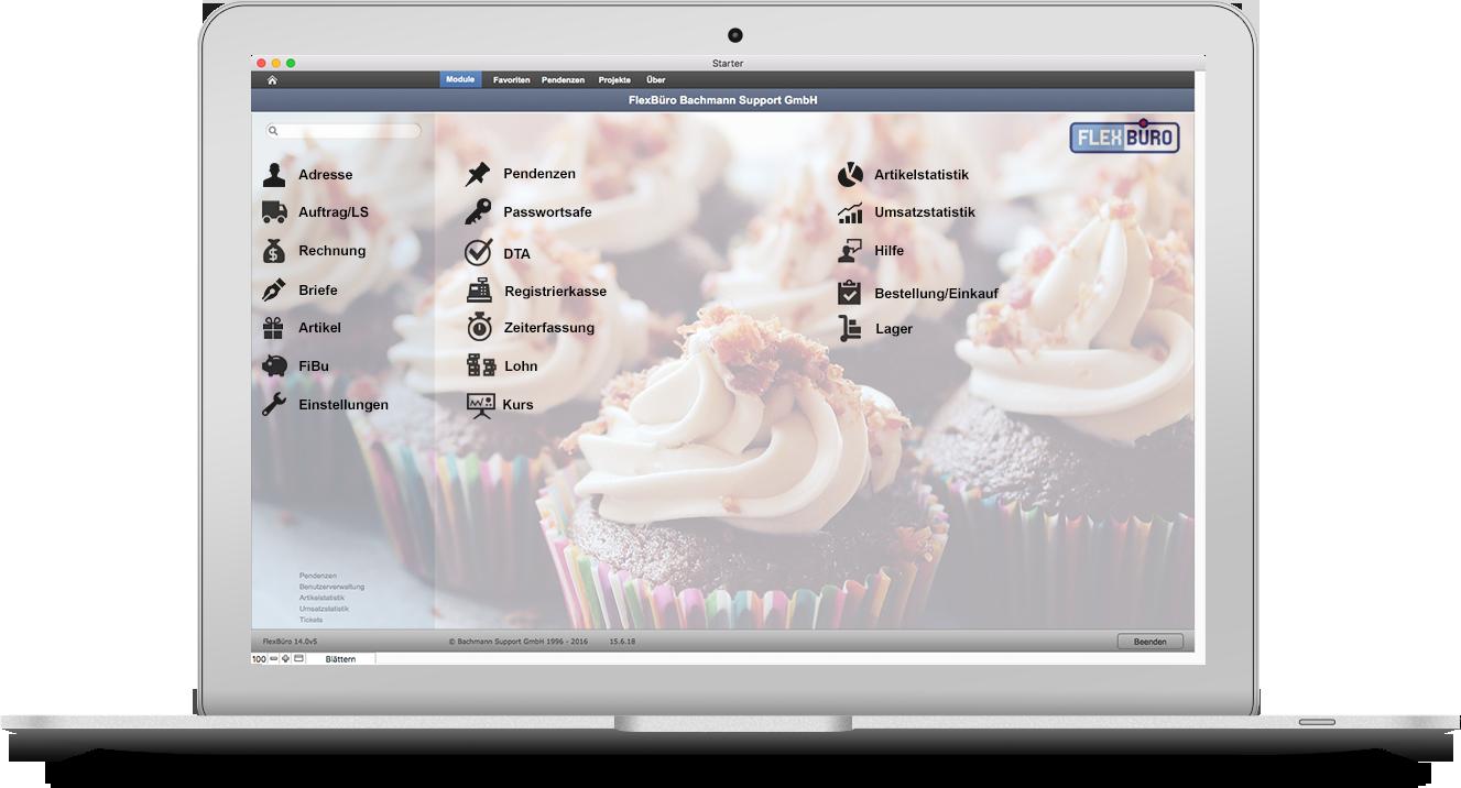 FlexBüro für Bäckereien & Konditoreien